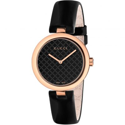 Gucci Diamantissima Medium Damklocka Svart YA141401
