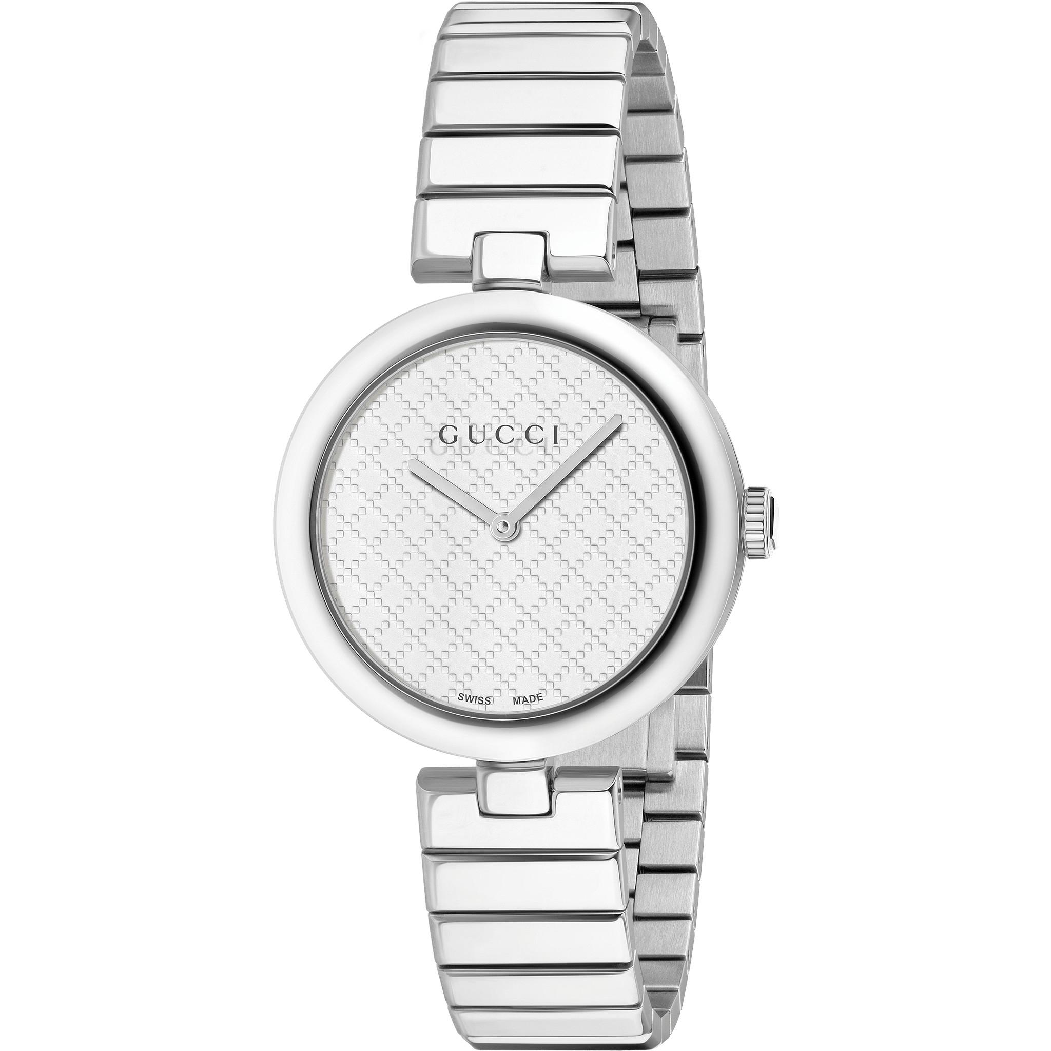 Ladies Gucci Diamantissima Medium Watch (YA141402)   WatchShop.com™ 81d53cf2731