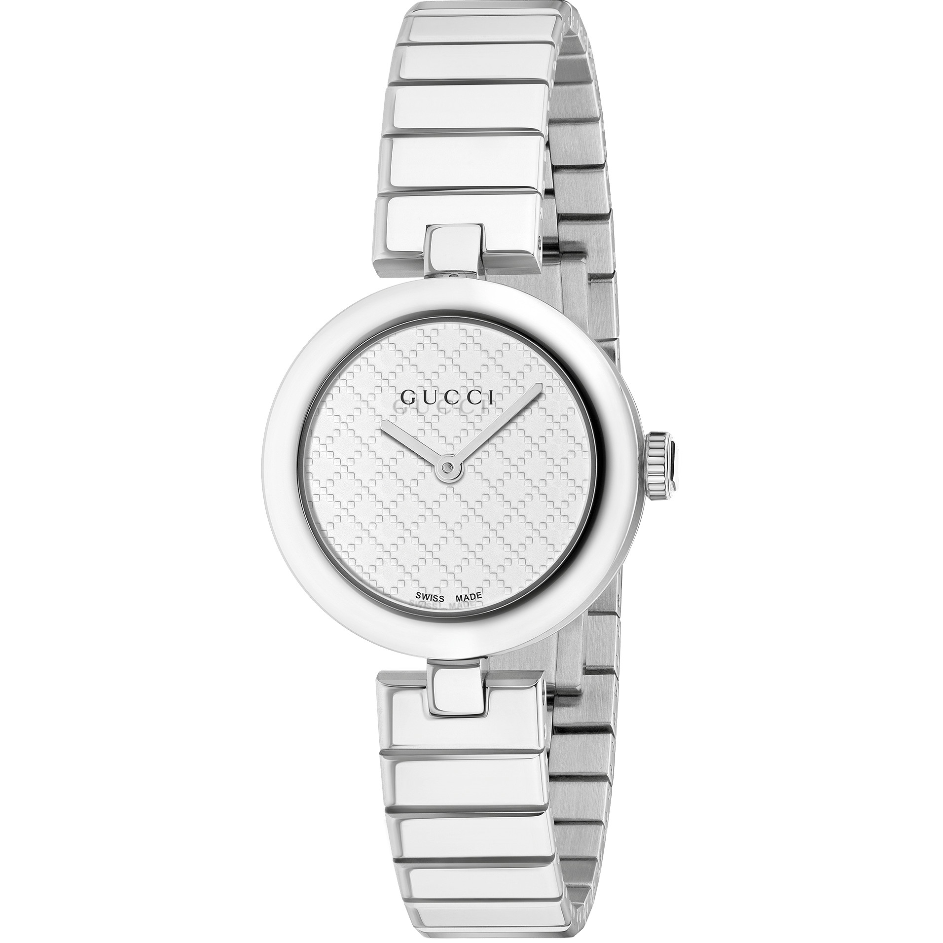 Ladies Gucci Diamantissima Small Watch (YA141502)   WatchShop.com™ 54e8edb5d90