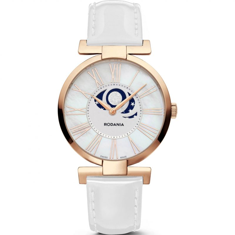 Ladies Rodania Swiss Tyara Moon Watch