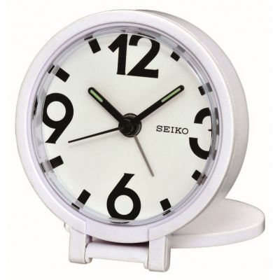 Seiko Clocks Travel Alarm Clock QHT011W