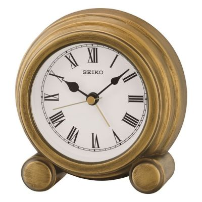 Seiko Clocks Mantel Alarm Clock QXE052G