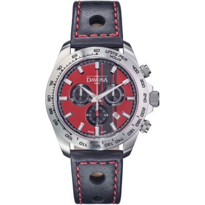 Mens Davosa Speedline TX Interchangeable Strap Set Chronograph Watch 16248865