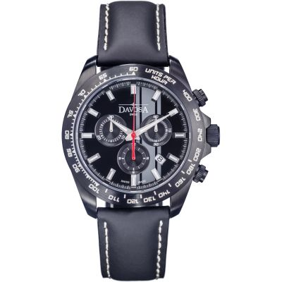 Mens Davosa Speedline TX Interchangeable Strap Set Chronograph Watch 16248855