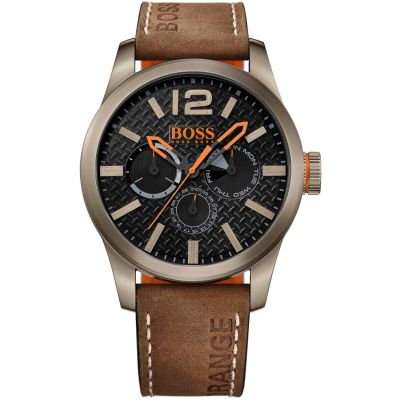 Hugo Boss Orange Paris Paris Herrenuhr in Braun 1513240