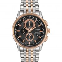 Mens Citizen World Chronograph AT Chronograph Watch AT8116-57E
