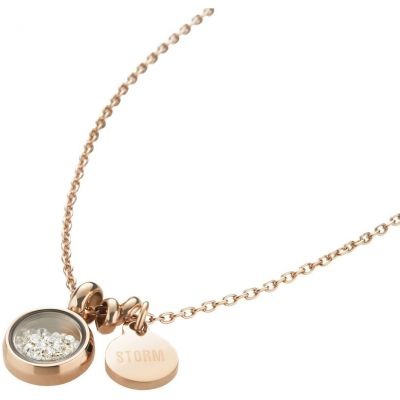 Ladies STORM PVD rose plating Mimi Necklace MIMI-NECKLACE-ROSE-GOLD