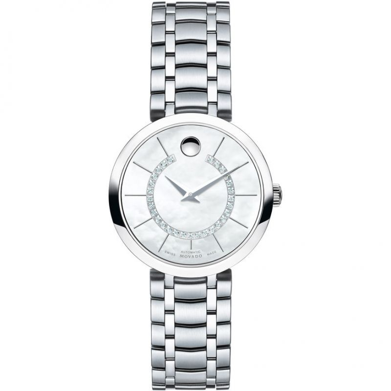 Ladies Movado 1881 Automatic Diamond Watch