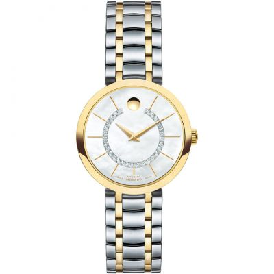 Ladies Movado 1881 Automatic Diamond Watch 0606921
