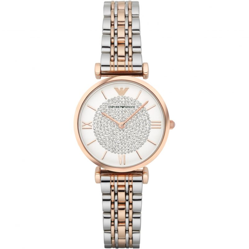 EMPORIO ARMANI Uhr | Emporio Armani Damenuhr in Zweifarbig AR1926