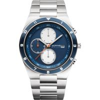 Mens Bering Chronograph Solar Powered Watch 34440-708