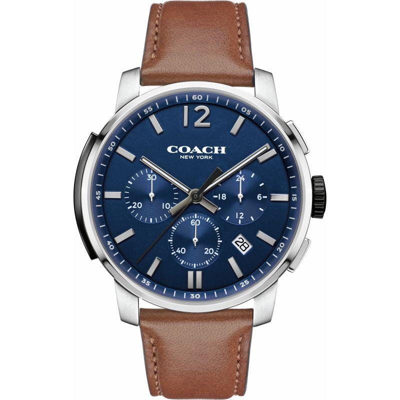 Mens Coach Bleecker Chronograph Watch