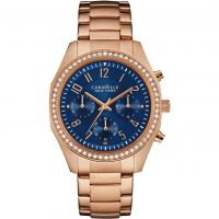 Ladies Caravelle New York Melissa Chronograph Watch 44L196