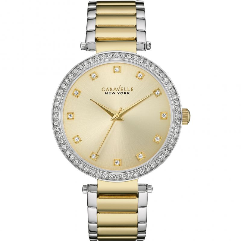 Ladies Caravelle New York T-Bar Watch 45L154