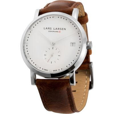 Mens Lars Larsen Emma Retro & Vintage Watch 137SWBL