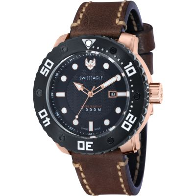 Montre Homme Swiss Eagle Abyss SE-9073-02