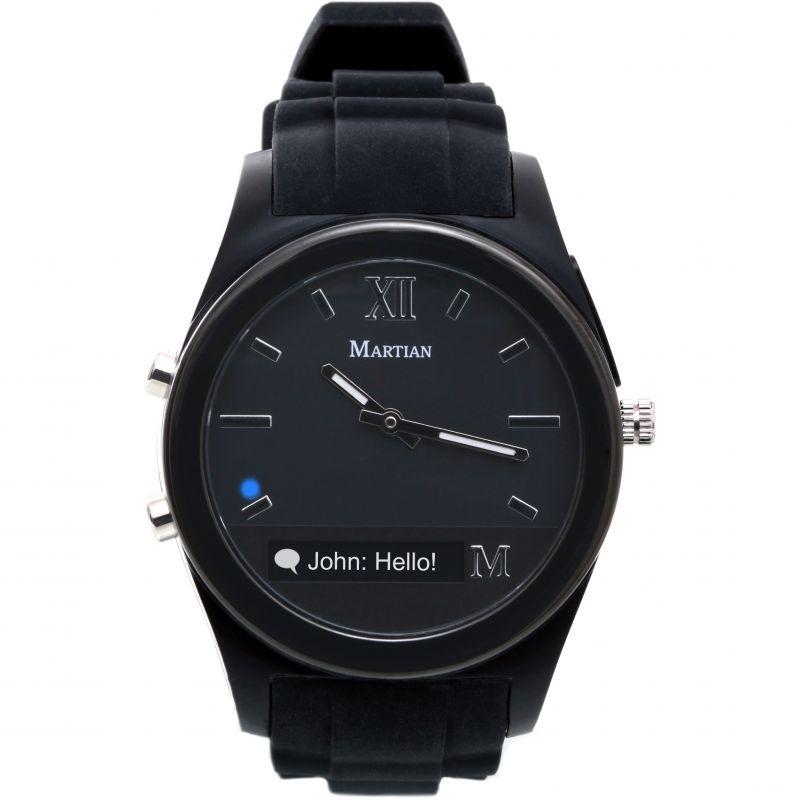 Mens Martian Notifier Bluetooth Smart Watch MN200BBB