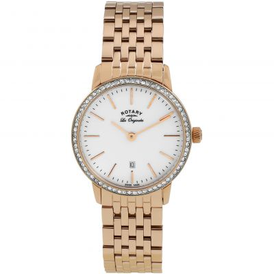 Ladies Rotary Swiss Made Kensington Quartz Watch LB90054/06