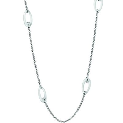 Ladies Calvin Klein Stainless Steel Ceramic Necklace KJ3LWN090100