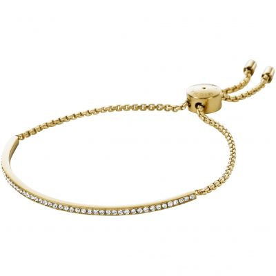 Ladies Michael Kors PVD Gold plated Brilliance Bracelet MKJ4130710