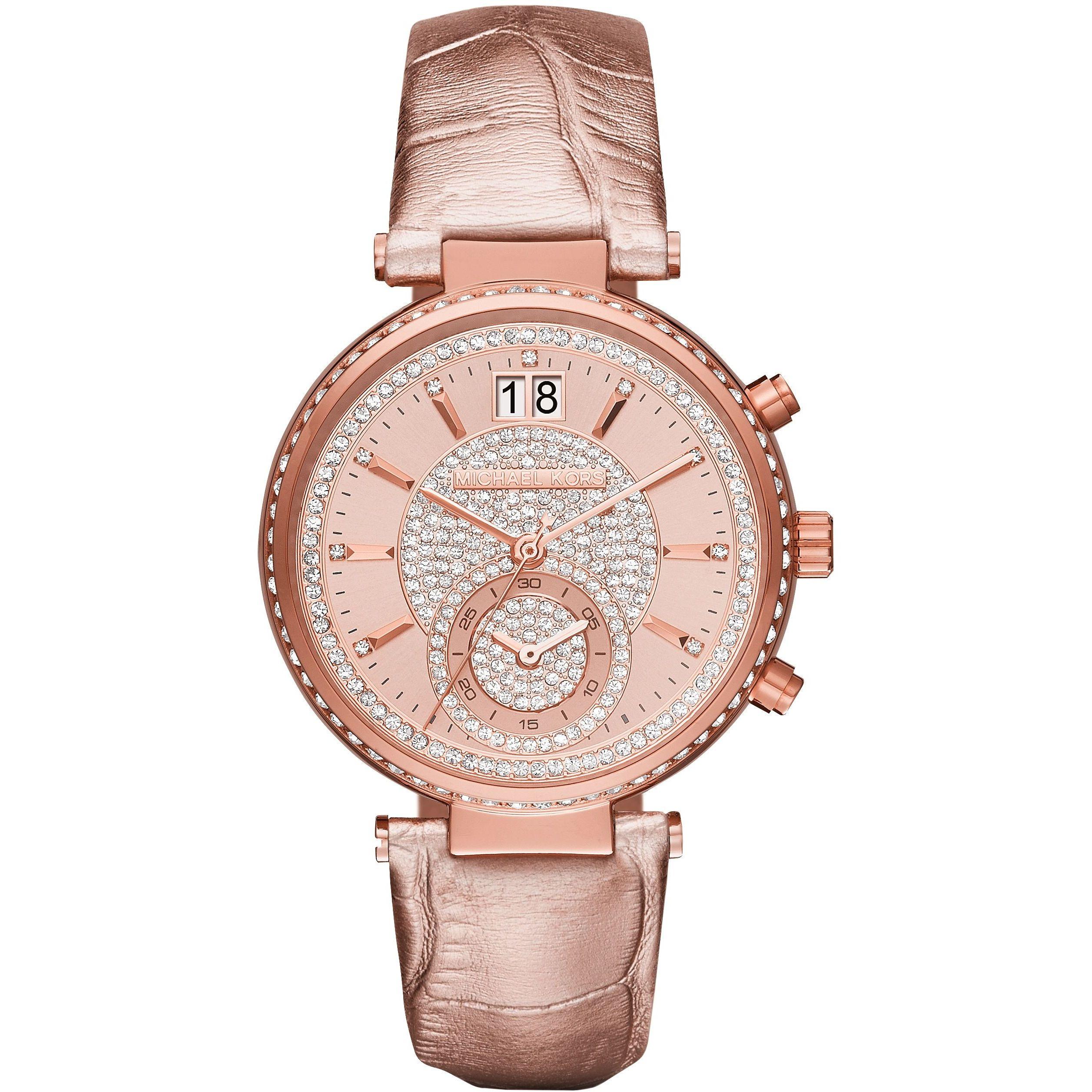 dfa161fe9 Ladies Michael Kors Sawyer Chronograph Watch (MK2445) | WatchShop.com™