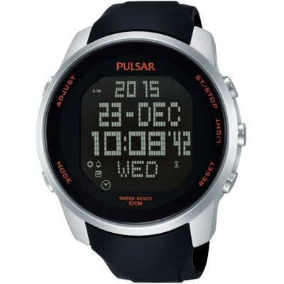 Mens Pulsar Alarm Chronograph Watch PQ2049X1