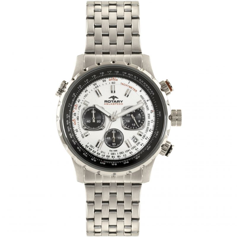 Mens Rotary Exclusive Chronograph Watch GB00185/01