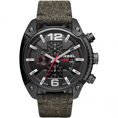 Mens Diesel Overflow Chronograph Watch DZ4373