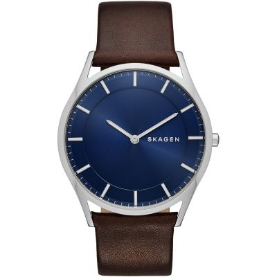 Skagen Holst Herrenuhr in Braun SKW6237
