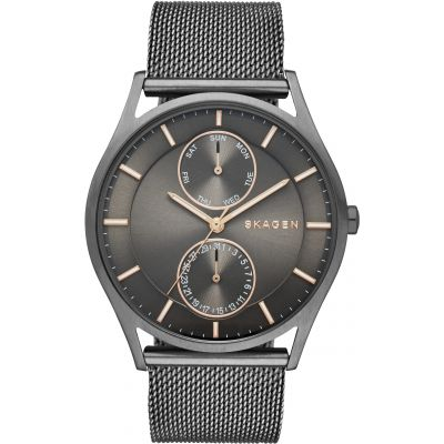 Skagen Holst Herrenuhr in Schwarz SKW6180