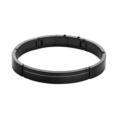 Mens Skagen Black Ion-plated Steel Bangle SKJM0079001