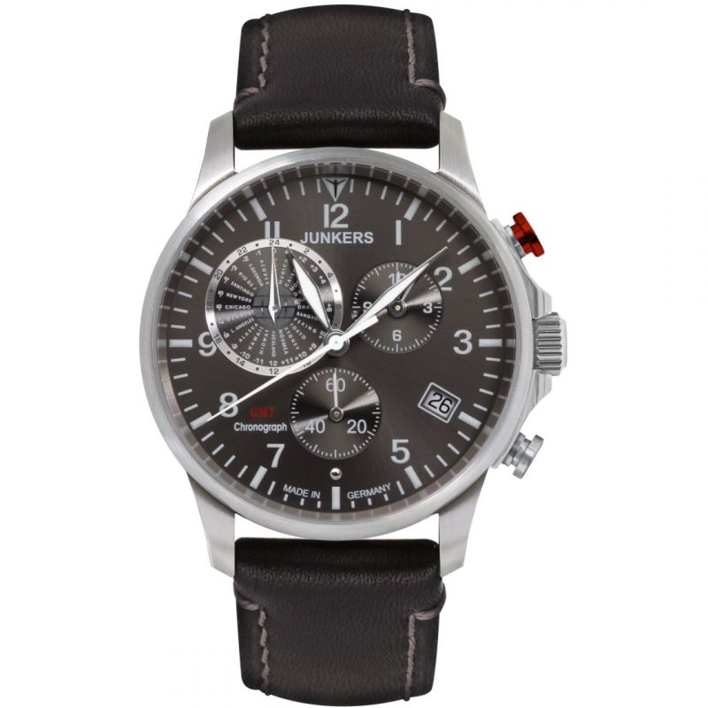 Mens Junkers Worldtimer Chronograph Watch
