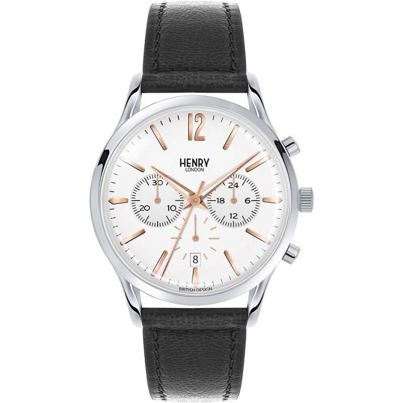 Mens Henry London Heritage Highgate Chronograph Watch