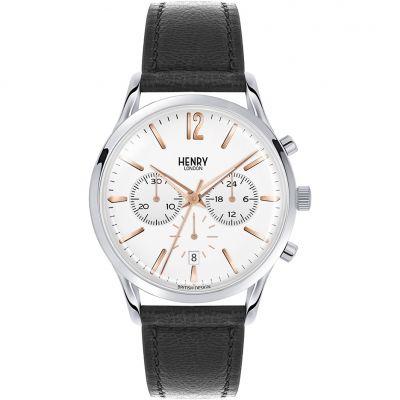 Mens Henry London Heritage Highgate Chronograph Watch HL41-CS-0011