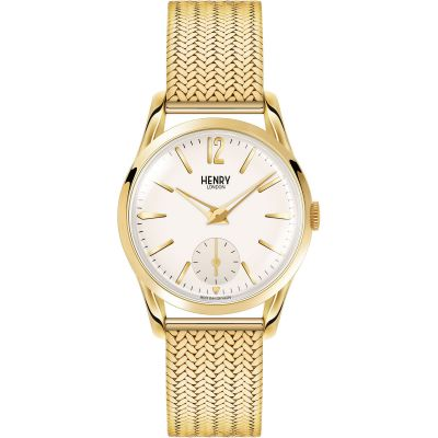 Henry London Heritage Westminster Damenuhr in Gold HL30-UM-0004