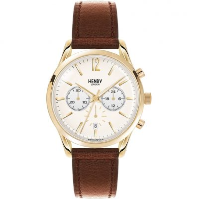 Unisex Henry London Heritage Westminster Chronograph Watch HL39-CS-0014