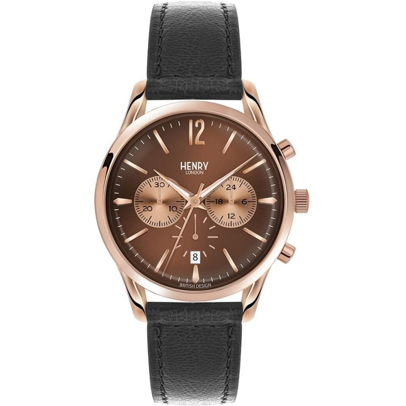 Unisex Henry London Heritage Harrow Chronograph Watch