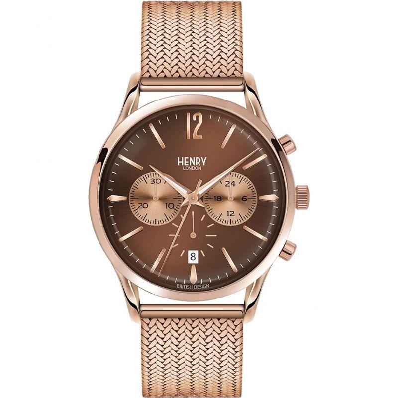Mens Henry London Heritage Harrow Chronograph Watch
