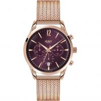 Unisex Henry London Heritage Hampstead Chronograph Watch HL39-CM-0088