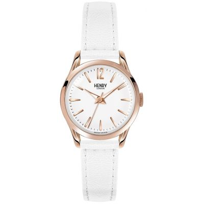 Henry London Heritage Pimlico Dameshorloge Wit HL25-S-0110