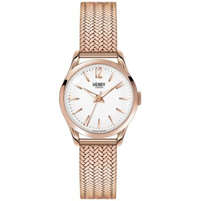 Henry London Heritage Richmond Dameshorloge Rose HL25-M-0022