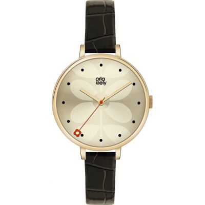 Ladies Orla Kiely Ivy Watch OK2032