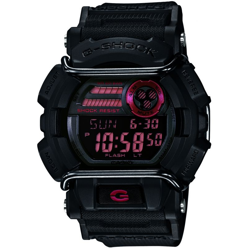 Mens Casio G-Shock Exclusive Alarm Chronograph Watch GD-400-1ER