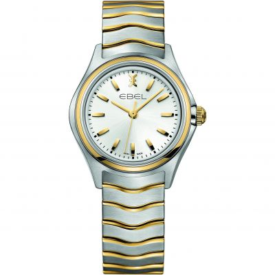 Ladies Ebel New Wave 18ct Gold Watch 1216195