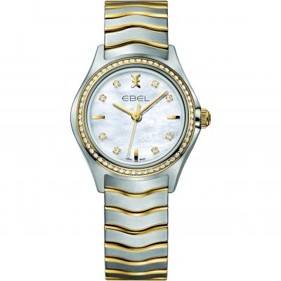 Ladies Ebel New Wave Diamond Watch 1216351