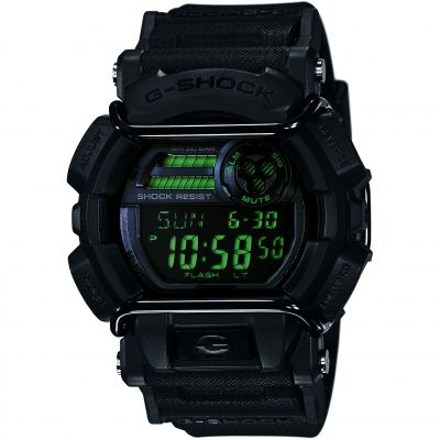 Mens Casio G-Shock Military Black Alarm Chronograph Watch GD-400MB-1ER