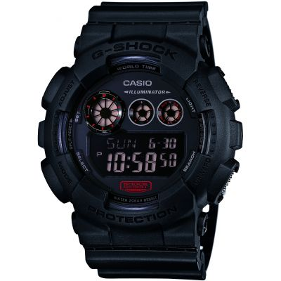 Mens  G-Shock Military Black Alarm Chronograph Watch