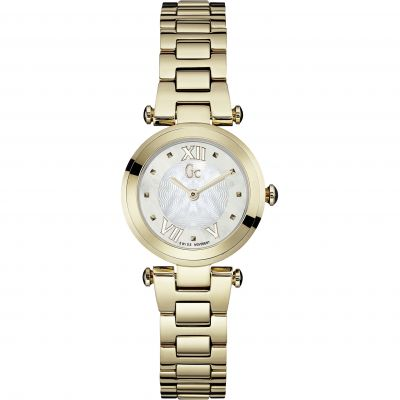 Gc Lady Chic Dameshorloge Goud Y07008L1