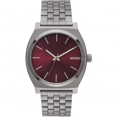 Nixon The Time Teller Unisexklocka Silver A045-2073