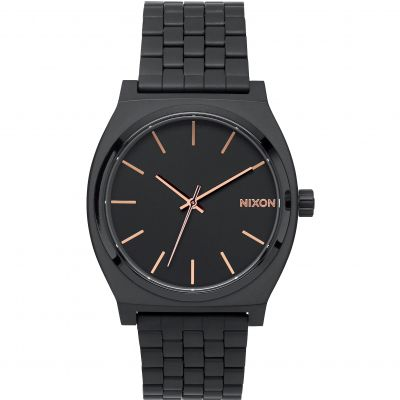 Nixon The Time Teller Herenhorloge Zwart A045-957
